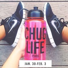 Spend a week with us on how to make sure you are getting enough and learning all about water. Tips, education, prizes, daily workouts, fun facts, and accountability to getting all your water in.  Super fun and totally free =D  Drop your info in at  #chuglife #drinkyourwater #fitnesschallenge #waterchallenge