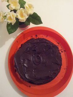 Butter and Buntings: Flourless(and fructose free) Chocolate Mud Cake wi...