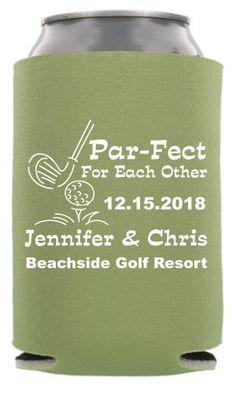 TWC-6586 - Par-fect for Each Other - Golf Wedding - Sports Wedding #koozies