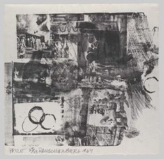 Robert Rauschenberg: Prize (66.592.35) | Heilbrunn Timeline of Art History | The Metropolitan Museum of Art