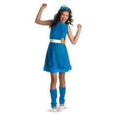 Cookie Monster Child/Tween Costume from CostumeExpress.com #Costume #SesameStreet