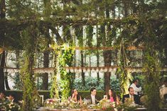 A stunning wedding reception setup / Tyler Branch Photography / Max & Sara Mexico City Forest Wedding / http://tylerbranchphoto.com/2012/05/max-sara-mexico-forest-wedding/