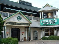 McGuire's Irish Pub in Destin, Florida - one of THE best places to go!!