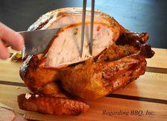 Turkey Marinade, Turkey Brine, Rotisserie Turkey, Grilled Turkey, Cooking For Beginners, Beginner Cooking, Smoked Turkey, Cooking Turkey, Turkish Recipes