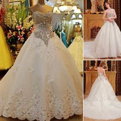 Free shipping, $292.15/Piece:buy wholesale Custom made 2014 Luxurious A-line Beaded Crystal Corset Lace Edge Sweetheart Wedding Dresses Vintage Plus Size Brides Xi45 of custom made,Real Photos,Tulle on elegantdresses's Store from DHgate.com, get worldwide delivery and buyer protection service.