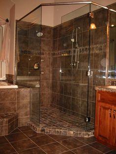 Porcelain Tile Shower Design Ideas, Pictures, Remodel And Decor