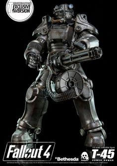 Power Armor Collectible Figure By ThreeZero