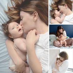 Mother and baby photoshoot