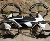Remote Control Hybrid Car-Helicopter