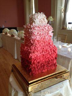 Gradient+Hydrangea+Cake+-+Inspired+by+Maggie+Austin's+Gradient+Hydrangea+cake