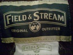 FIELD & STREAM HEAVY flannel shirt Men Medium Chocolate Brown Long Sleeve Cotton #FieldStream #ButtonFront #FREESHIPPING
