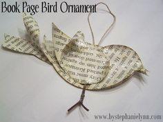 Paper bird.