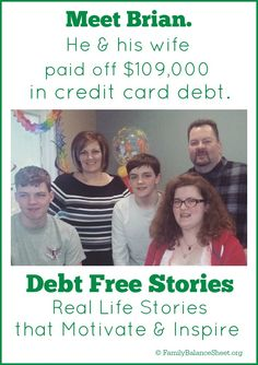 Are you struggling with credit card debt? Brian was too. Find out how Brian and his wife paid off $109,000 in credit card debt in 50 months.