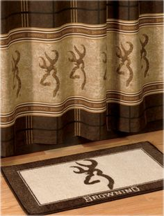 Browning Buckmark Bathroom Accessories Bath Mat B Pro S Rusticbathroom