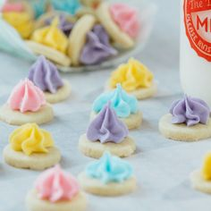 Iced Gems OMG do you remember these? Kid Desserts, French Desserts, Vegan Desserts, Baking Recipes, Snack Recipes, Dessert Recipes, Snacks, Yummy Treats, Sweet Treats
