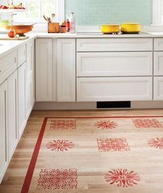 great step by step instructions for how one blogger painted her kitchen floor for under 50 from effortless style blog all about paint pinterest - Painted Kitchen Floor Ideas