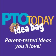 PTO Today Idea Bag: A great (and free) resource full of ideas submitted by PTOs and PTAs.