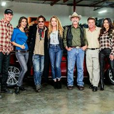 #FBF Johnny Depp on #Overhaulin! Yes!!! We fixed up his wife Amber Heard's 69' Shelby and surprised her! Watch this episode and more brand new episodes NOV 4 on @velocity! #chipfoose #flashbackfriday