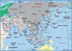 Asia - Sri Lanka, Thailand, Singapore, Cambodia, Hong Kong, China, Japan. Still to see India, Indonesia, Maldives, Bali, Nepal.