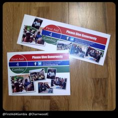 Labels designed and printed for First Aid 4 Gambia - www.firstaid4gambia.org If you are interested in our collection box and bucket labels please visit our website: www.charnwood-catalogue.co.uk #charity #fundraising #fundraisingsupplies Custom Printed Labels, Printing Labels, First Aid, Label Design, Fundraising, Charity, Bucket, Website, Box