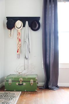 Beyond the Junk Drawer: Another Quick Trick for an Uncluttered Home ~ETS #entryway