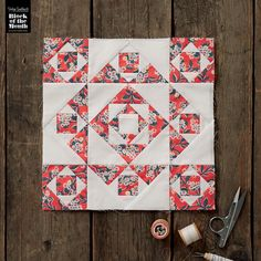 Discover Lynne Goldsworthy's gorgeous new BOM for Love Patchwork & Quilting magazine!