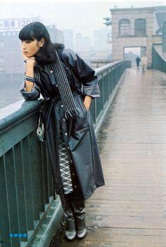 "g-a-r-l-a-n-d-s: ""ryuko tsushin october 1975 "" Japanese Fashion Designers, Japanese Models, Yamaguchi, Portrait Inspiration, Style Inspiration, Japan Fashion, Malta, Asian Beauty, Supermodels"