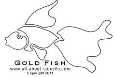 FISH STENCIL PATTERN | Lena Patterns
