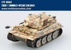 Tiger 1 [Middle]-Spzabt.510,1944 Trumpeter 36213