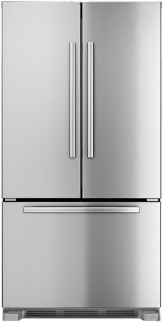 We love Bosch appliances in our kitchen remodels because they are both beautiful and affordable. | Bosch B22CT80SNS 21.8 cu. ft. Counter-Depth French Door Refrigerator with Spill-Proof Glass Shelves, Humidity-Controlled Crispers, Internal Water Dispenser and Ice Maker