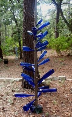 Blue Bottle Trees Are Said To Be The Most Powerful Way To Keep Away Evil Spirits. Do you believe in the Paranormal???