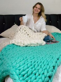 Woolly Cloud Blanket - the Softest Blanket You'll Ever Touch. 100% Merino Wool.