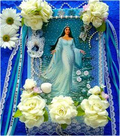 Salve, a Rainha do Mar! by Lidia Luz, via Flickr