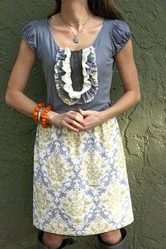 dress from T-shirt