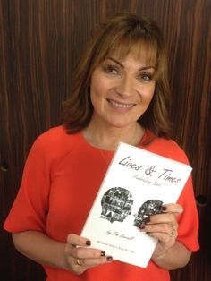 Lives & Times Fundraising Book : Lorraine Kelly Features In The Lives & Times Beating Bowel Cancer Fundraising Book