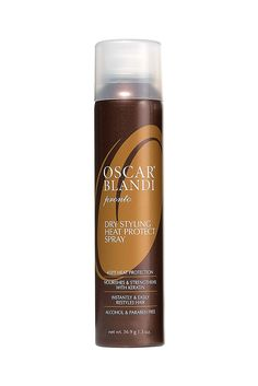 With the proper heat-styling protection, you can curl, blow dry, and straighten your strands guilt-free. Oscar Blandi Pronto Dry Heat Protect Spray, $24; ulta.com   - MarieClaire.com