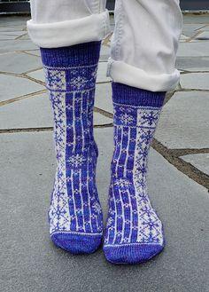 Ravelry: Winter Chill Socks pattern by Aud Bergo