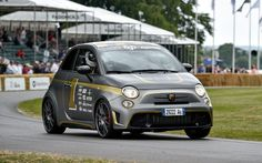 Fiat 500 - Abarth 695 biposto - Goodwood Festival of Speed 2014: world's smallest supercar - Telegraph