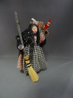 From The Studio Of Pat Benedict My La Befana Miniature Doll For 2012 Now On