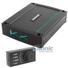 Kicker 44KXMA12001 1200W RMS Monoblock KXM Marine Rated Class-D Car Amplifier