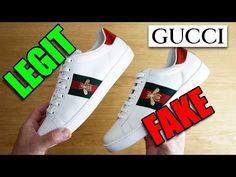 LuxuryCheap sneakers per tutti  Legit vs fake confronto gucci ace originali  con le. a8e22f4d0892