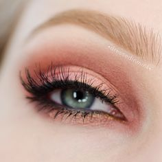 rose gold - #rosegold #eyeshadow #eyemakeup #dressedinmint #eyes -  bellashoot.com, bellashoot iPhone & iPad app
