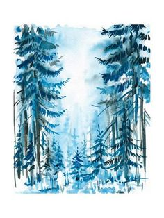 Blue Forest Posters by DannyWilde at AllPosters.com