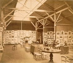 Charles Thurston Thompson, 'Exhibition of the Photographic Society of London and the Société française de photographie at the South Kensington Museum, 1858', 1858. Albumen print. Museum no. 2715-1913, © Victoria and Albert Museum, London
