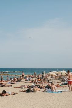 Barceloneta Beach | The Everygirl's Weekend City Guide to Barcelona, Spain #theeverygirl