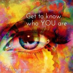 Get to know all the different parts of you. Just see them, meet them and embrace them.