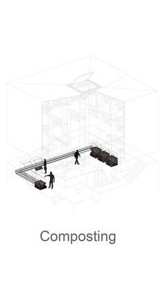 diagram / dark as highlight / Kengo Kuma & Associates