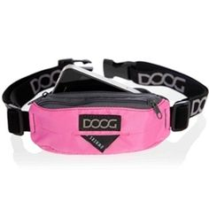 DOOG Mini Running Belt from SimplyDogStuff.com for those who love running with their dog or simply like to carry  less when out and about.