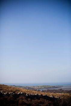 View from Croagh Patrick, Co. Mayo, Ireland