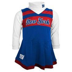 Washington Redskins Infant Girls Jumper Turtleneck Cheer Dress ... 3c7fd9aa3